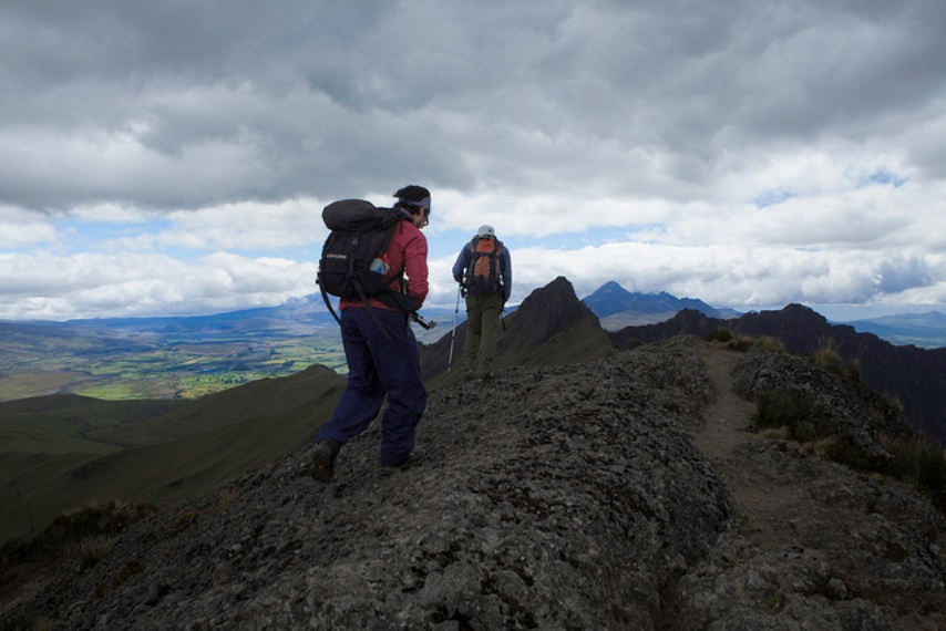 Summiting on Ruminahui - © Flickr User - Nicholas Jones