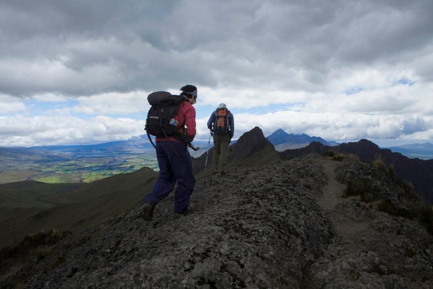 Cerro Ruminahui: Summiting on Ruminahui - © Flickr User - Nicholas Jones