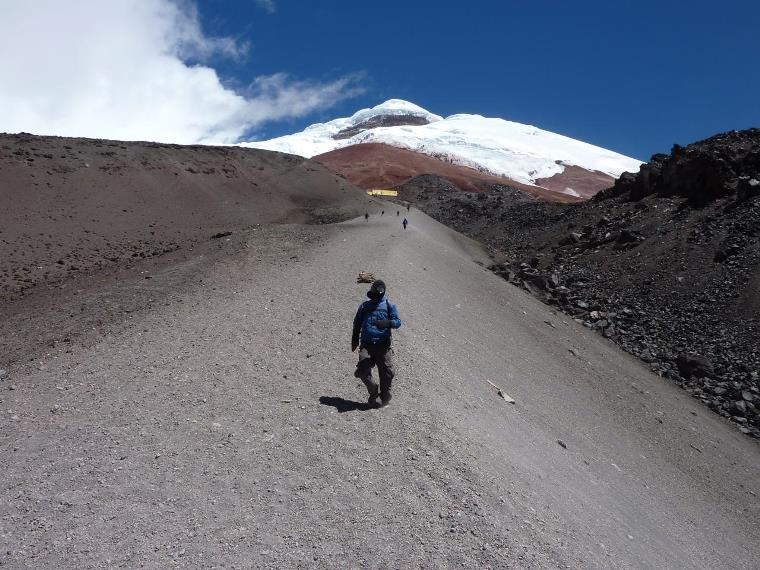 Volcan Cotopaxi: To Cotopaxi refuge - © Flickr User - David Hamill