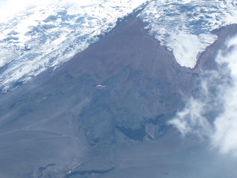 Refuge below Cotopaxi glaciers - © William Mackesy