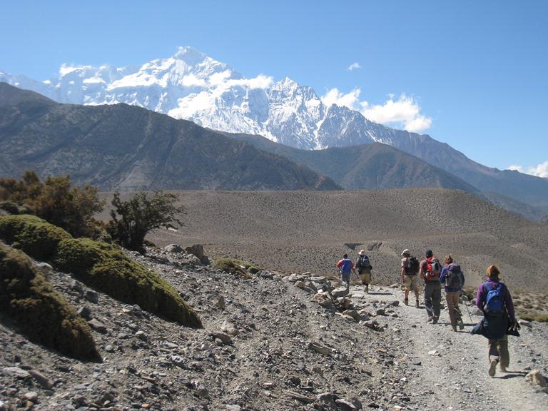 Nepal Annapurna & Mustang Region, Muktinath / Jomsom Trek, Above the Kali Gandaki Gorge, Walkopedia