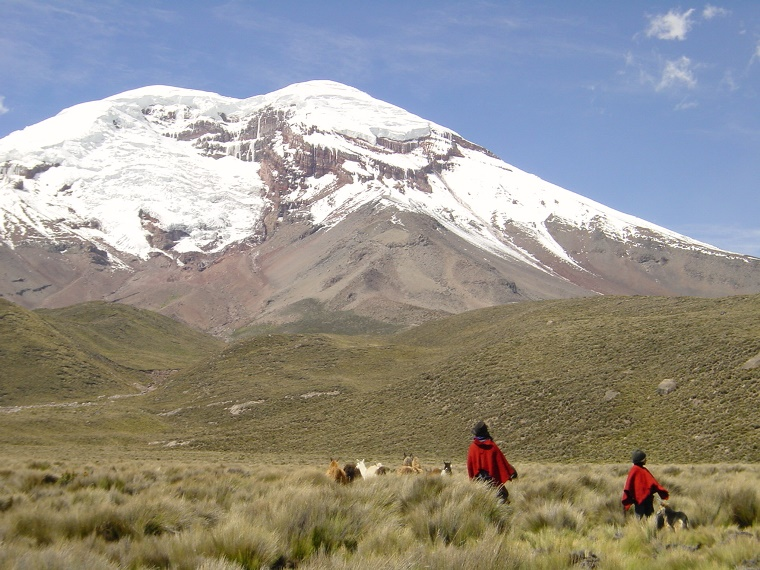 Chimborazo from north - © Flickr User - jarikir