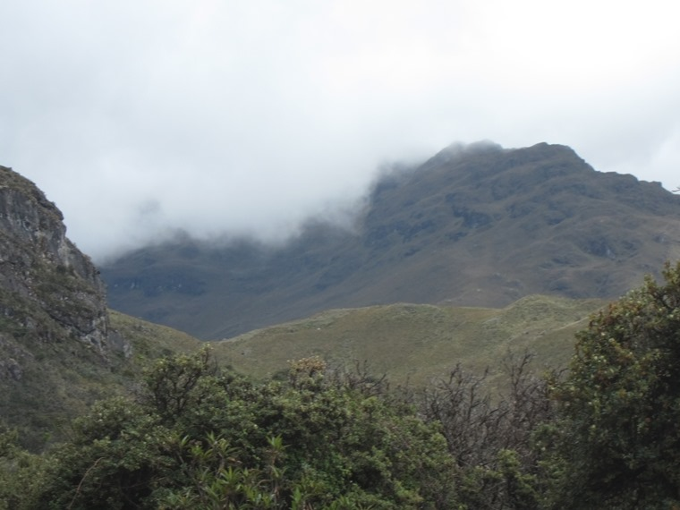 Cajas NP: Inca road emerging at west park boundary - © William Mackesy