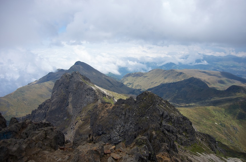 Pichincha Volcanoes: Rucu Pichincha summit ridge  - © Flickr User - Robert Nunn