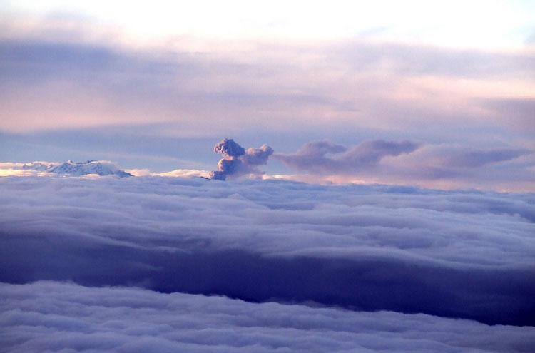 Tungurahua from Cotopaxi - © Jo