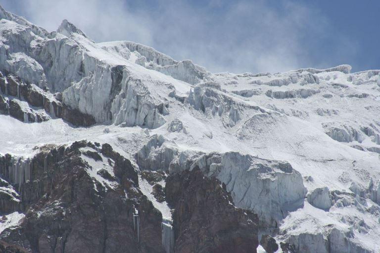 Chimborazo icefields  - © flickr user mederic