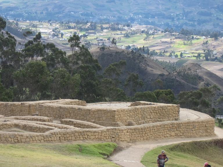 Ecuador Central Andes, Avenue of the Volcanoes, Incapirca, Walkopedia