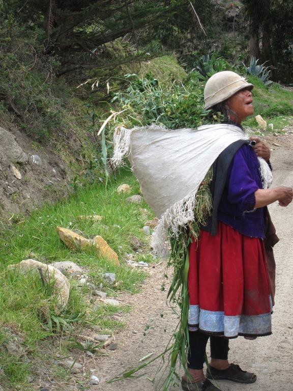 On Canari Inca road - © William Mackesy