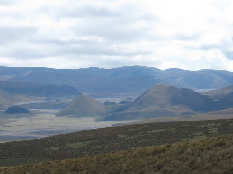 Very volcanic plain north of Cotopazi - © William Mackesy