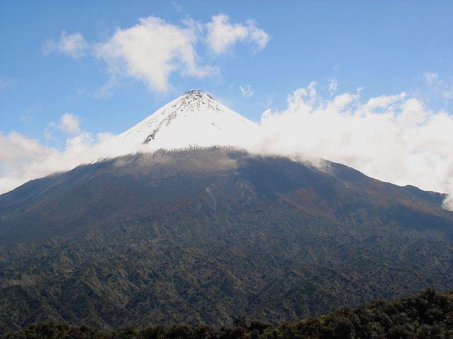 Ecuador Southern Andes: Sangay NP, Volcan Sangay, Sangay, Walkopedia