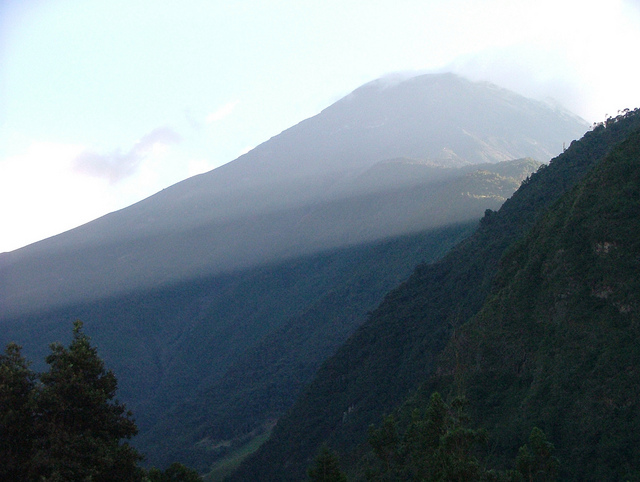 Banos Area : Tungurahua  - © Flickr User - Sophie Robson