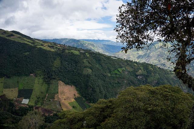 Banos Area : Tungurahua slopes - © Flickr User - Jipe7