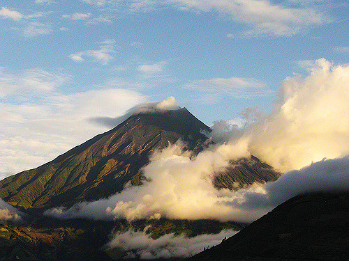 Banos Area : Tungurahua  - © Flickr User - Orban Lopez Crus