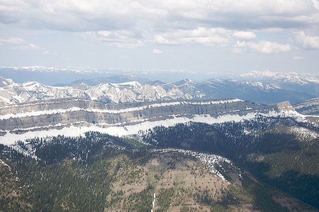 The Bob Marshall Wilderness - Chinese Wall - © Copyright Flickr User Sam Beebe, Ecotrust