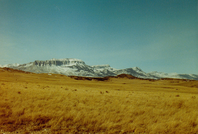 Chinese Wall: The Bob Marshall Wilderness - Chinese Wall in the distance - © Copyright Flickr User Purple_Mecha