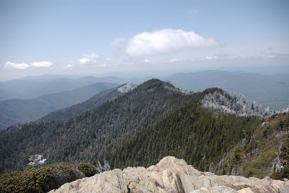 Alum Cave Trail ??? Mount le Conte Vista -03 - © Flickr ??? Insipidlife