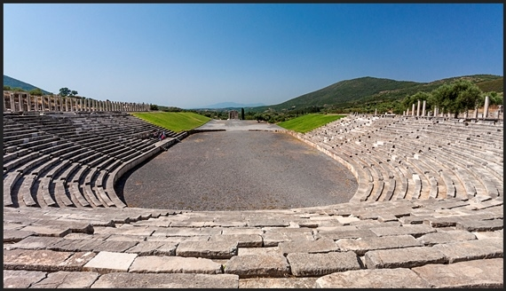 Ancient Messene: Ampitheatre - © Flickr user - Steve McCraig
