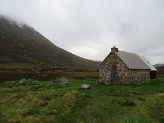 Corrour Hut - © William Mackesy