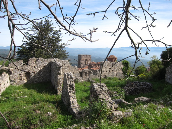 Mystras heart - © William Mackesy