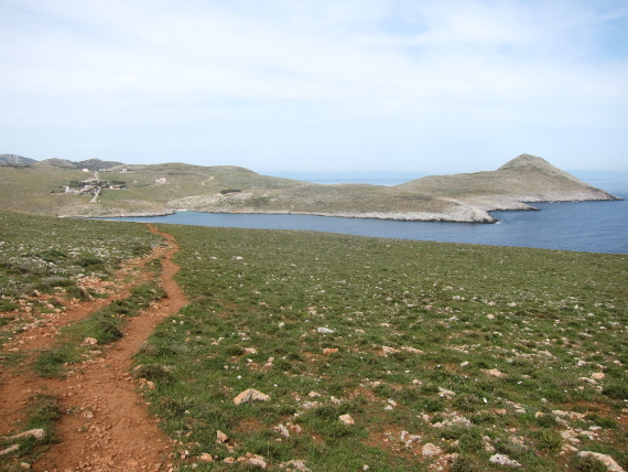 North across ancient city bay, Cap Tainaron - © William Mackesy