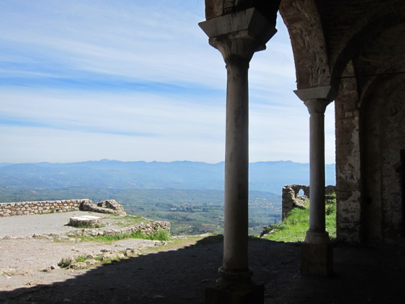 Mystras portico - © William Mackesy