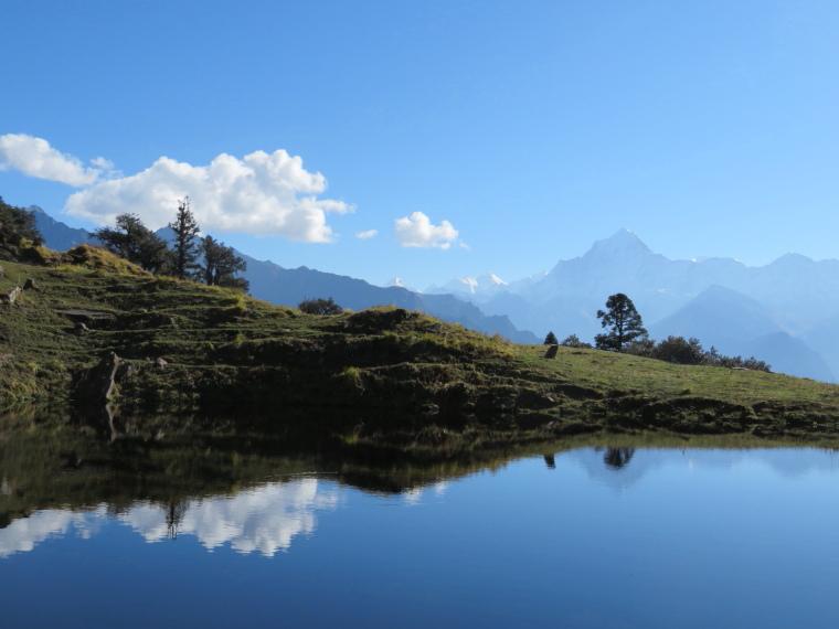 Garwhal, Kumaon Himalaya : Curzon Trail, great  final day - © William Mackesy