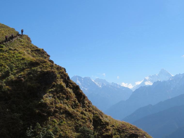 Garwhal, Kumaon Himalaya : Curzon Trail, great  final day 4 - © William Mackesy