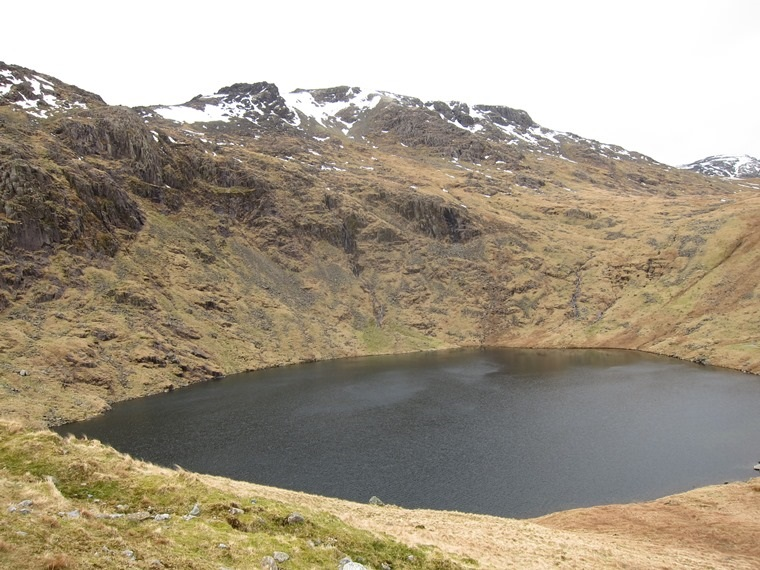 Scafell Pike: Angle Tarn - © William Mackesy