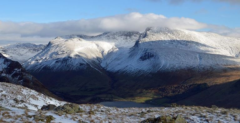 Scafell Pike: © Flickr user Doug Sim