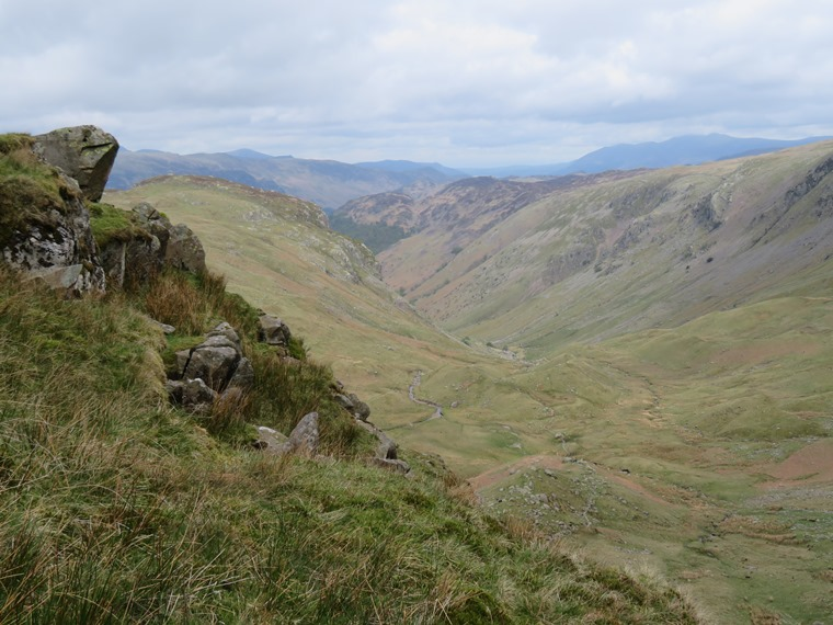 Coast to Coast, Lake District: From Lining Crag north down Greenup Gill - © William Mackesy