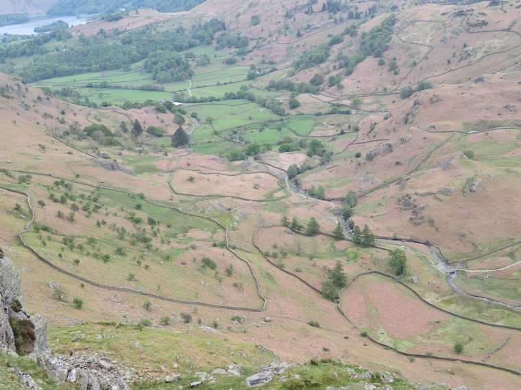 Coast to Coast, Lake District: Field patterns, Easedale - © William Mackesy