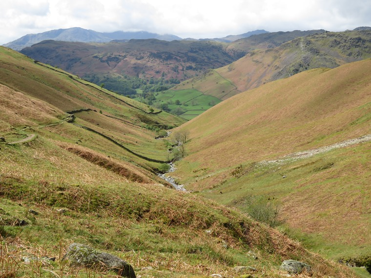 Coast to Coast, Lake District: back down Tongue Gill - © William Mackesy