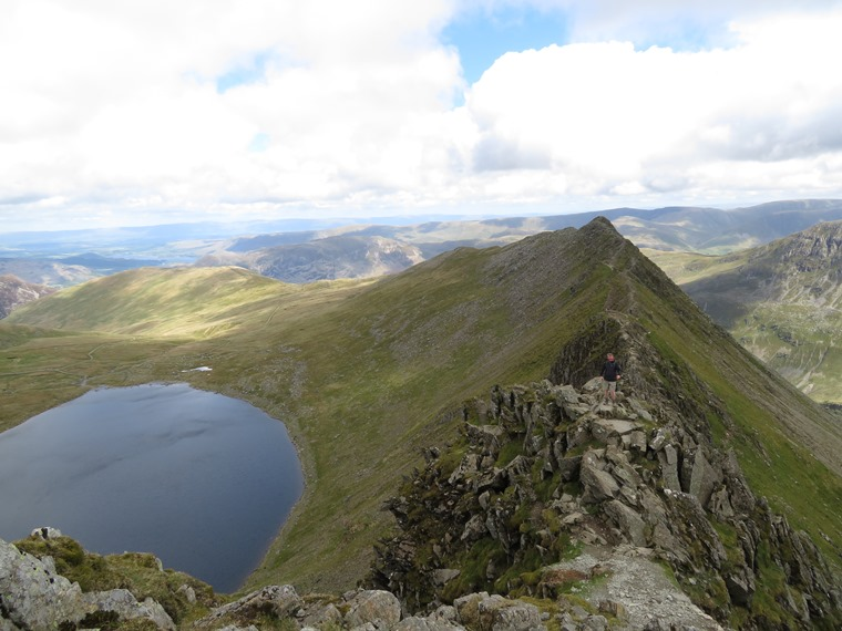 Coast to Coast, Lake District: Striding Edge - © William Mackesy