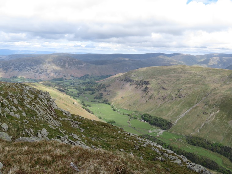 Coast to Coast, Lake District: Across Patterdale to High Street - © William Mackesy