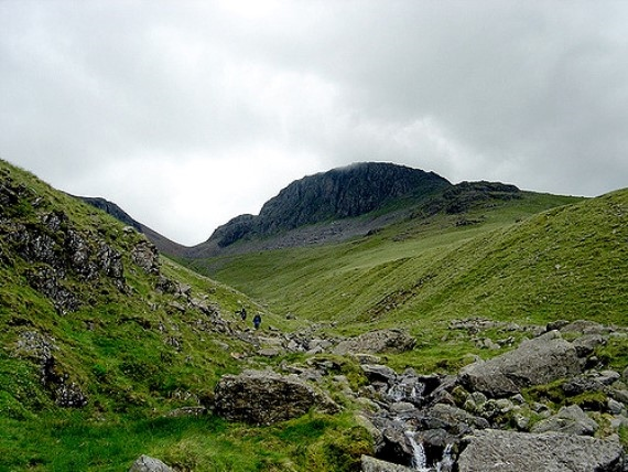 Towards Great Gable - © Flickr user - George Barker