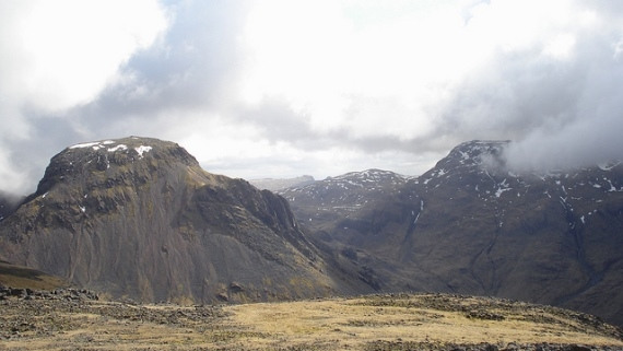 Great Gable and Great End from Kirk Fell - © Flickr User Peer Lawther