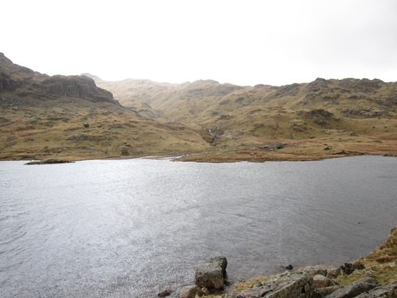 Langdale Pikes: Stickle Tarn - © William Mackesy