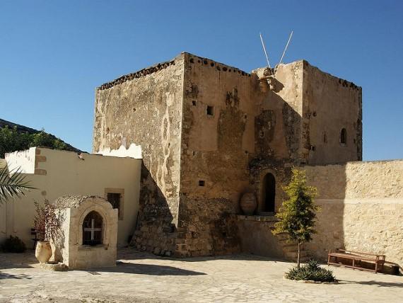 Odigitria Chapel: Monastry Odigitria - © flickr user - Rookuzz
