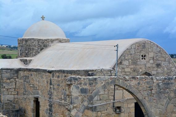 Greece Peloponnese: Taygetus range and the Mani, Odigitria Chapel, , Walkopedia