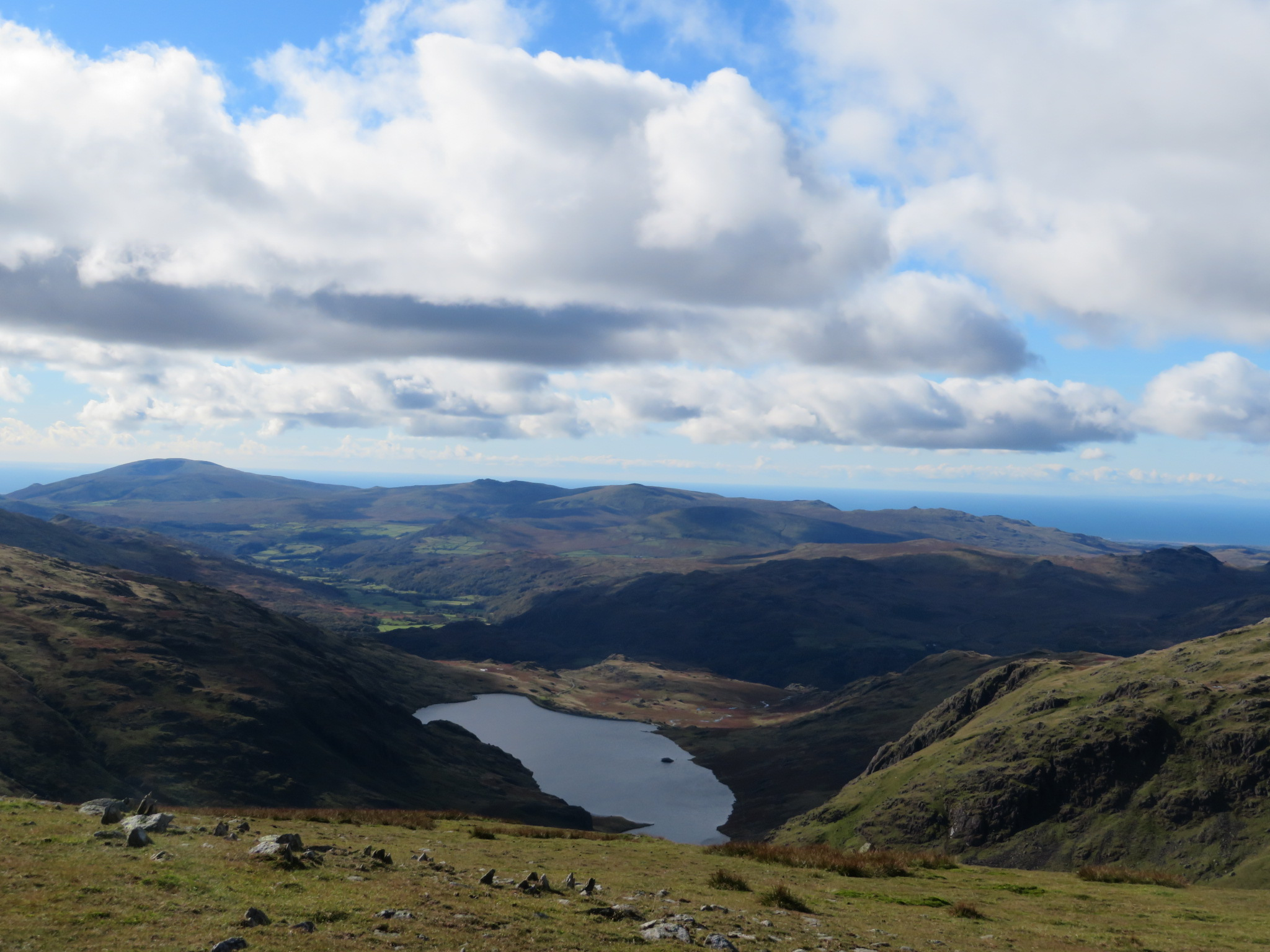 United Kingdom England Lake District, Swirl How and Great Carrs, Looking west, Walkopedia