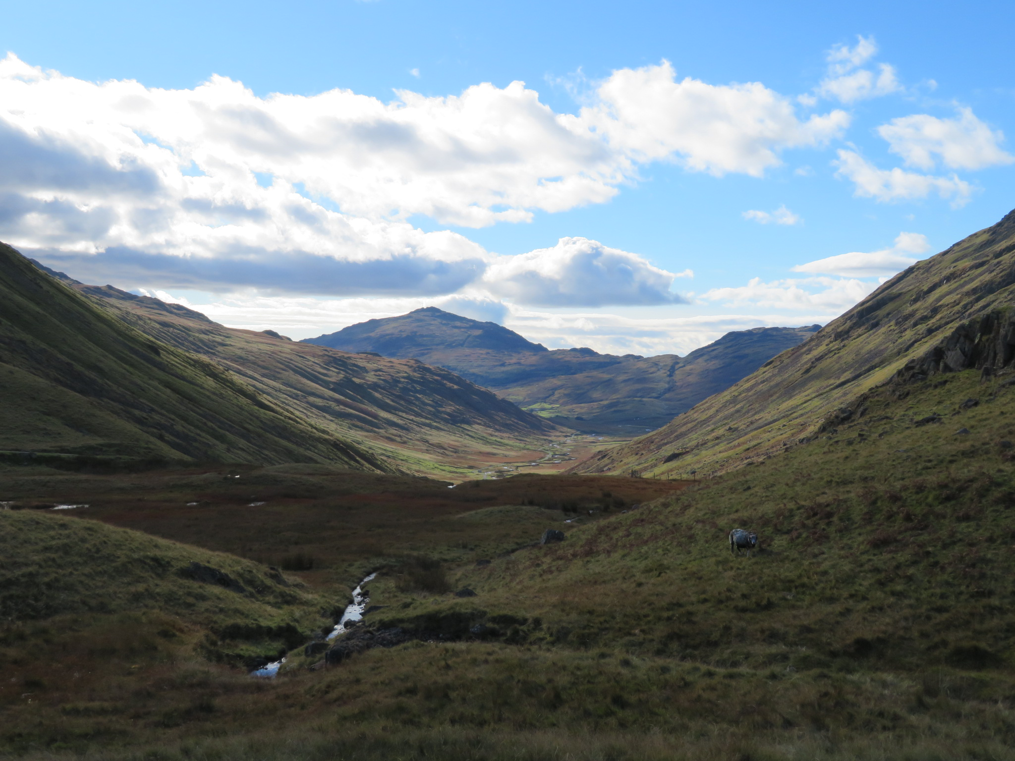 United Kingdom England Lake District, Swirl How and Great Carrs, Wrynose Bottom, Walkopedia