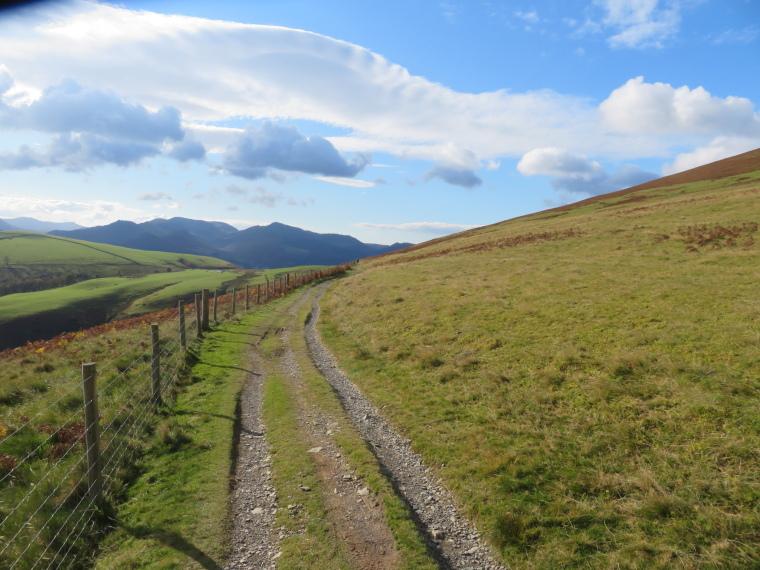 United Kingdom England Lake District, Cumbria Way and High Way, Longscale fell lower flank, Cumbria Way, Walkopedia