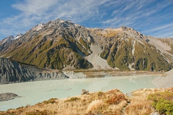New Zealand South Island Mount Cook Area, Kea Point Track, , Walkopedia