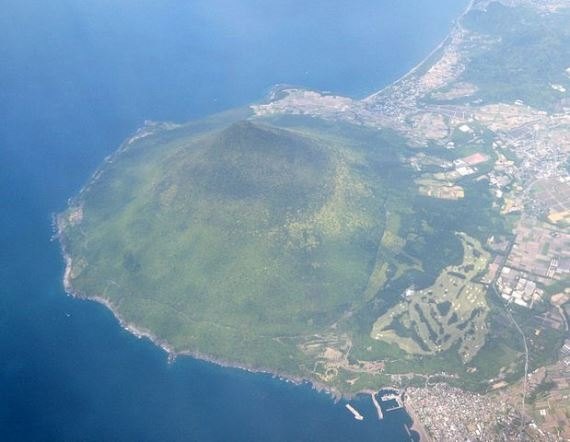 Aerial Photo of Kaimondake - © Wiki user Ray_Go