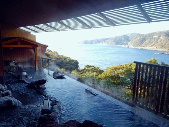 Izu Peninsula: Izu onsen baths - © Walk Japan