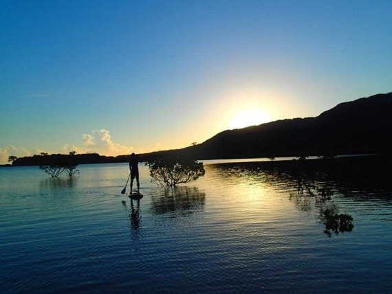 Okinawa Iriomoto paddle board - © Walk Japan