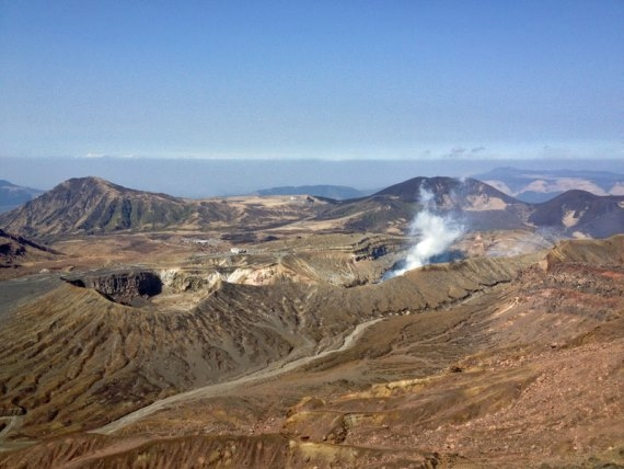 Kyushu asosan craters - © Walk Japan