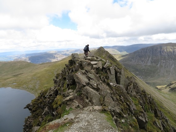 Striding Edge - © William Mackesy