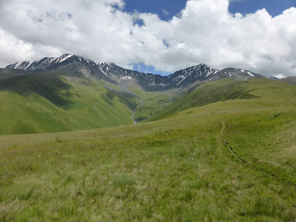 Juta to Roshka via Chaukhi Pass: Atsunta Pass - © Nick Ince