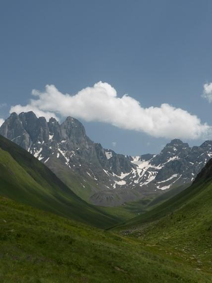 Chaukhi Mt 1 - © Nick Ince
